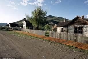abandoned towns abandoned montana historic gold rush town lies empty in