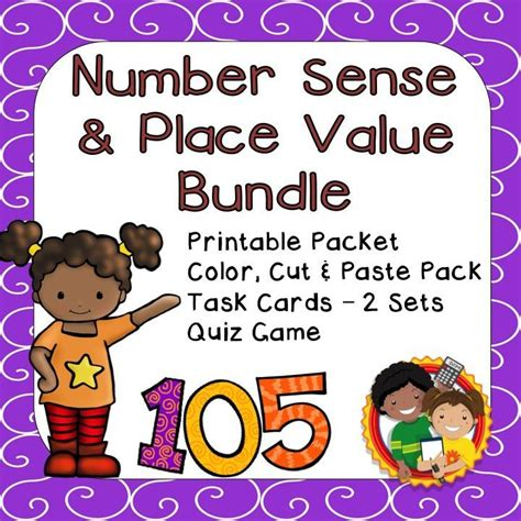 number place value cards printable 89 best nym math class on tpt images on pinterest math
