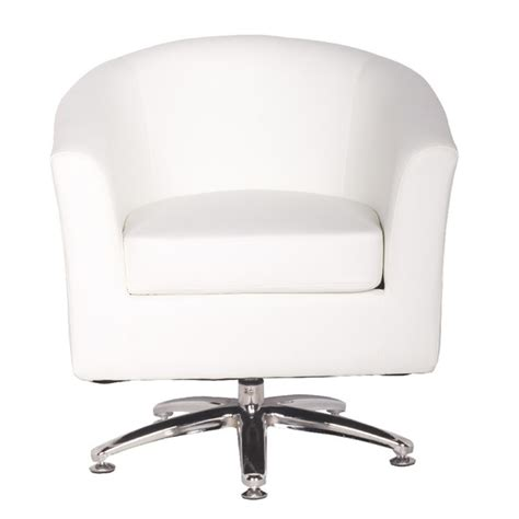 designer swivel chairs leather tub chairs designer leather swivel tub chair armchair white 183 chairs warehouse