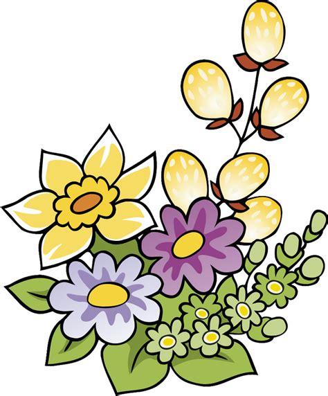 disegno di fiori sta disegno di fiori di primavera a colori
