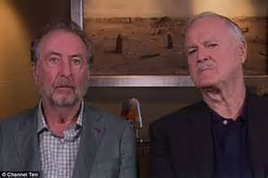 John cleese and eric idle joke that they only do shows to get money