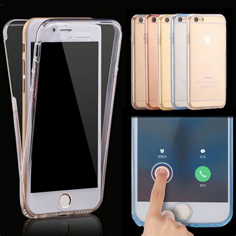 Tpu 360 Iphone 5 6 6 Plus 7 7 Plus aliexpress buy 360 protective for iphone x 8 7 6 6s soft tpu transparent