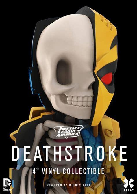 Mightyjaxx Xxray Deathstroke By Jason Freeny jason freeny announces new xxray injustice league figures