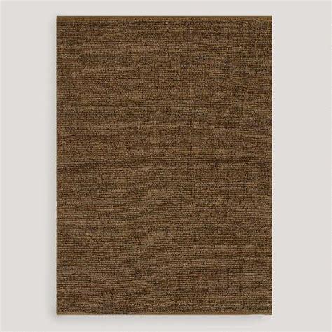 Flat Woven Rugs by Brown Deca Flat Woven Jute Rug World Market