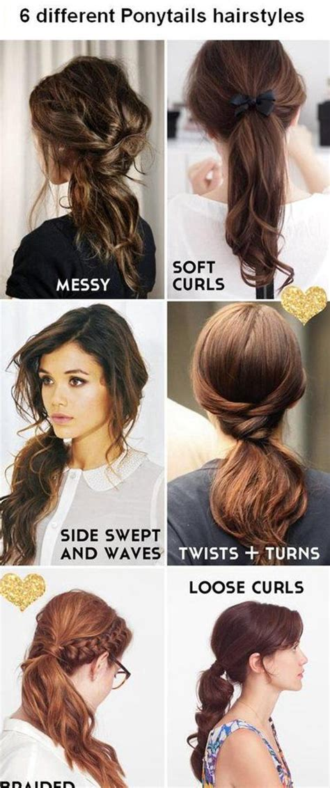 ponytailsmadeat the saloon 26 coolest hairstyles for school pony tails twists and