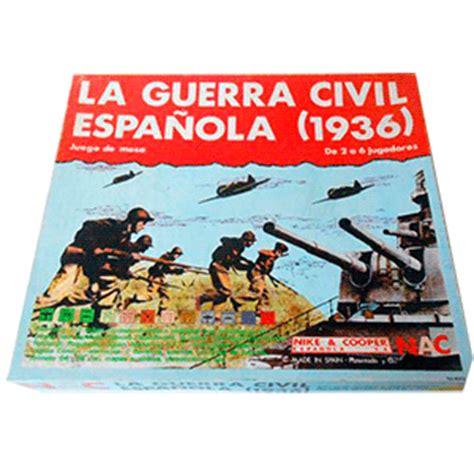 la guerra civil espaola 8430606149 la guerra civil espa 241 ola 1936 juego de mesa garesys