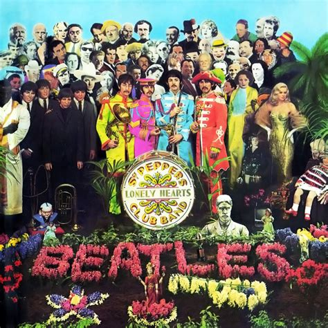 the beatles sgt peppers lonely hearts club band car 225 tula frontal de the beatles sgt pepper s lonely