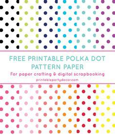 dot pattern unlock free digital polka dot scrapbooking papers