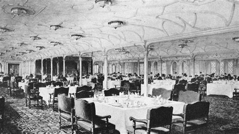 titanic dining room photos of the titanic dorothy gibson