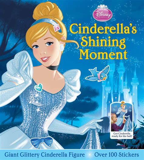 Rapunzel Wall Stickers disney princess cinderella s shining moment book by