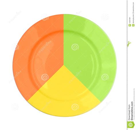 colorful plates colorful plate isolated top view stock image image
