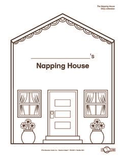 napping house i used these to make the napping house book into a felt circle time felts