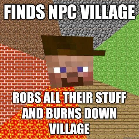Funny Minecraft Memes - minecraft villager memes
