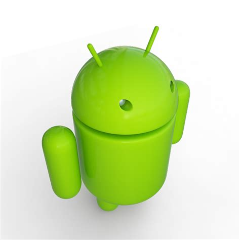 android mascot android mascot 19266 3d model max obj 3ds dxf cgtrader