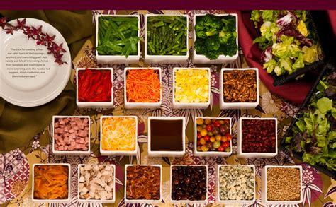 salad buffet menu ideas salad bar wants a quot salad station quot and quot sushi quot bar for food at