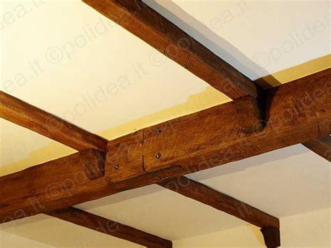 travi soffitto finto legno travi finto legno
