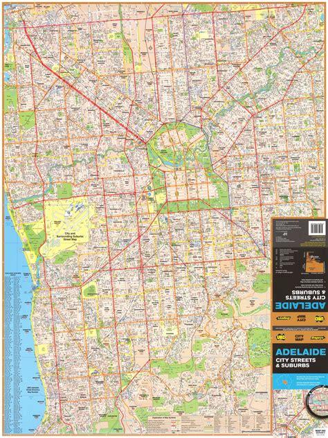 printable map adelaide suburbs adelaide suburban map ubd 562 map of adelaide suburns