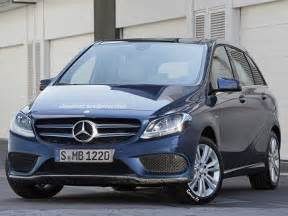 2015 mercedes b class facelift w246 rendered ahead of