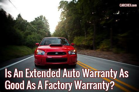 extended auto warranty  good   factory warranty