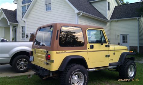 Jeep Wrangler 95 Parts Jeep Wrangler Top 87 95 Sold The Hull