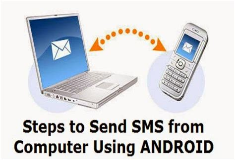 how to send free sms from computer to mobile steps to send sms from computer using android phone 69trick