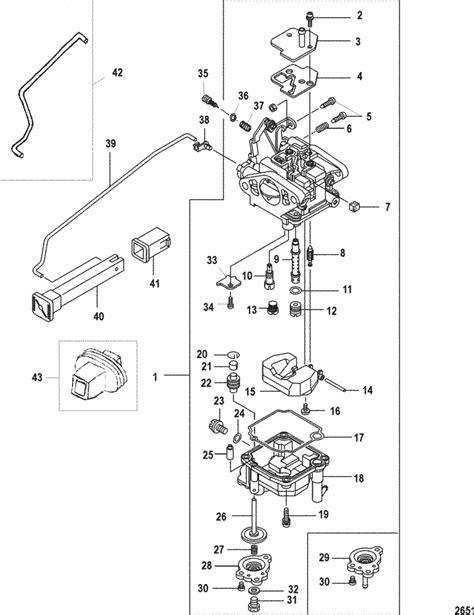 Mariner 9.9 HP (4-Stroke) (209 cc) Carburetor Parts