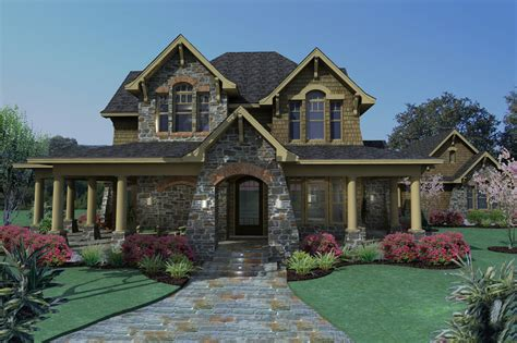 large front porch house plans craftsman style house plan 3 beds 2 5 baths 2552 sq ft plan 120 167
