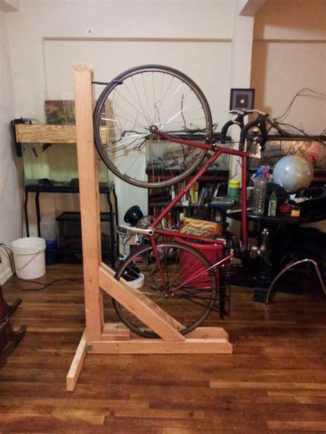 vertical bike rack  xs single bike diy bike rack