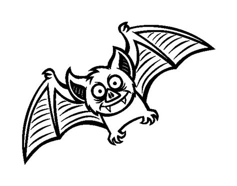 imagenes de halloween murcielagos dibujo de murci 233 lago simp 225 tico para colorear dibujos net