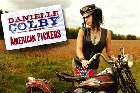 American pickers quot star danielle colby plans to set up a permanent