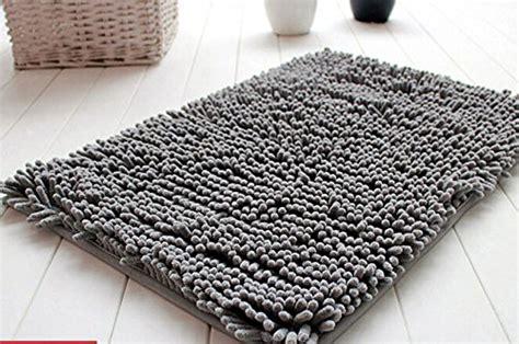 grey bath rugs fantastic soft shaggy non slip absorbent bath mat bathroom shower rugs carpet grey home