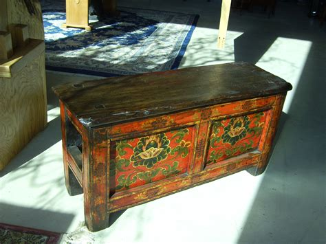 tibetan prayer bench 19th century for sale antiques com