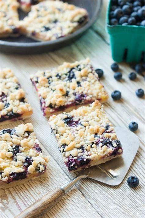 Marguerite Lemon Bar blueberry lemon shortbread crumble bars recette