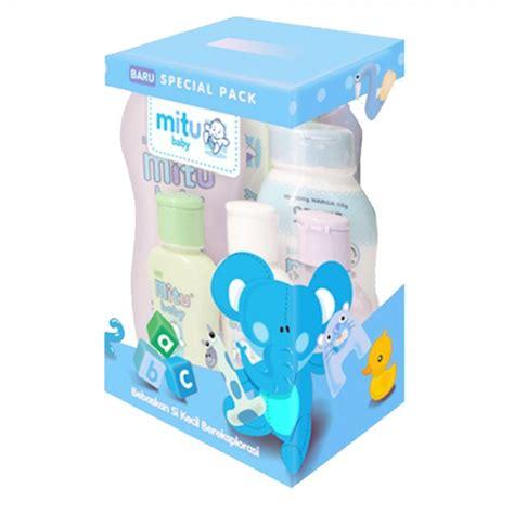 Mitu Baby Sabun Mandi 200ml mitu baby paket box biru