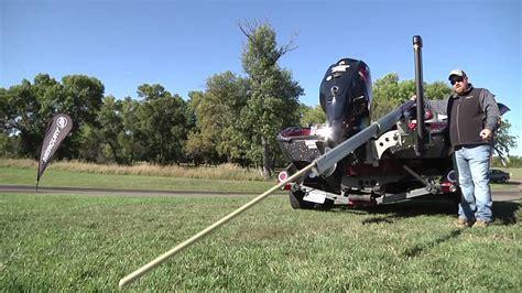 boat winch pole minn kota s new 12 foot talon review youtube