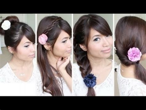 quick hairstyles for school videos hairstyles quick and easy for school