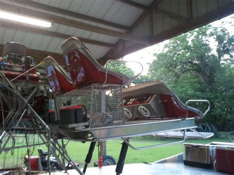 airboat console custom home built console with gauges and speakers