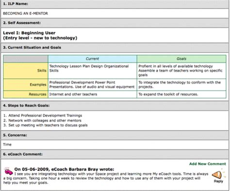 examples ecoaching my ecoach
