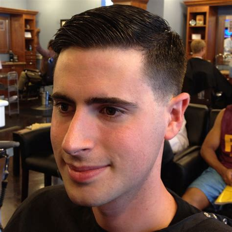 mens hair no part kevins classic taper