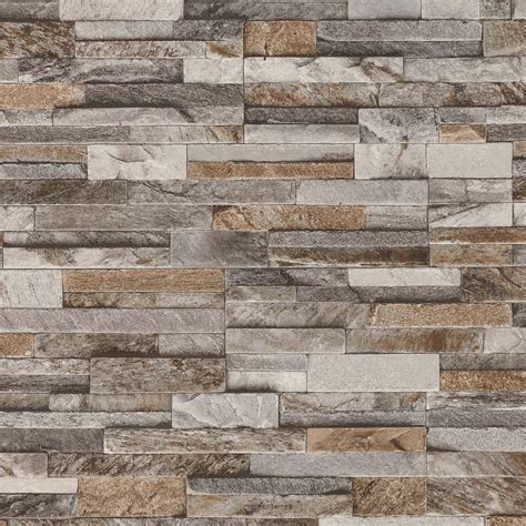 Kitchen Design Colours by Brick Effect Wallpaper 3d Slate Stone Wall Textured Vinyl