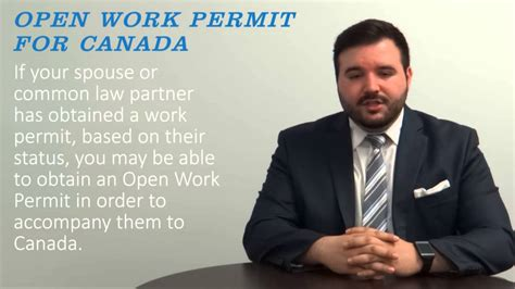 Work Permit After Mba In Canada by Open Work Permit For Canada