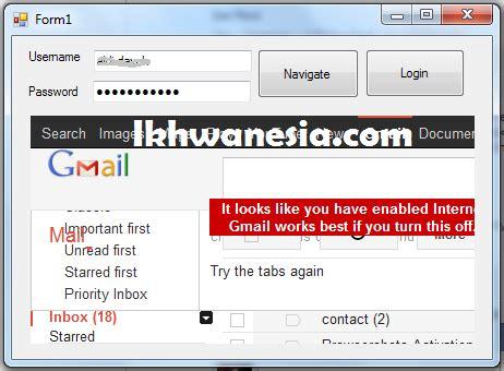 membuat website login cara membuat website login application dengan vb net