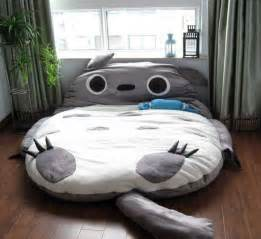 Pokemon Bed Sheets Giant Anime Character Beds My Neighbor Totoro Bed
