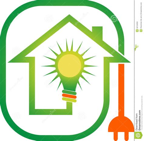power home logo stock vector image 39724059