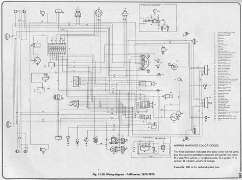 toyota starter wiring diagrams color code for car wiring
