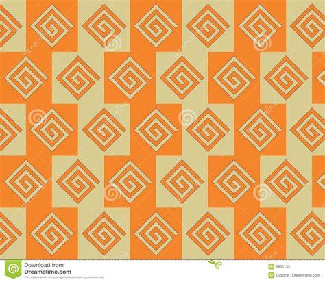 alternating pattern in math pop art alternate greeks pattern orange yellow stock