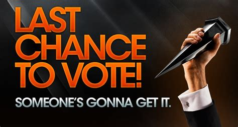 Last Chance To Vote by Last Chance To Vote For Scream Awards 2011