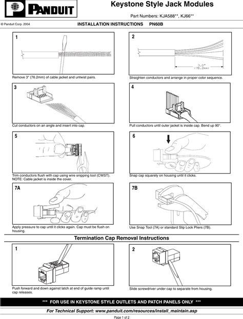 outstanding panduit cat6 wiring diagram images best
