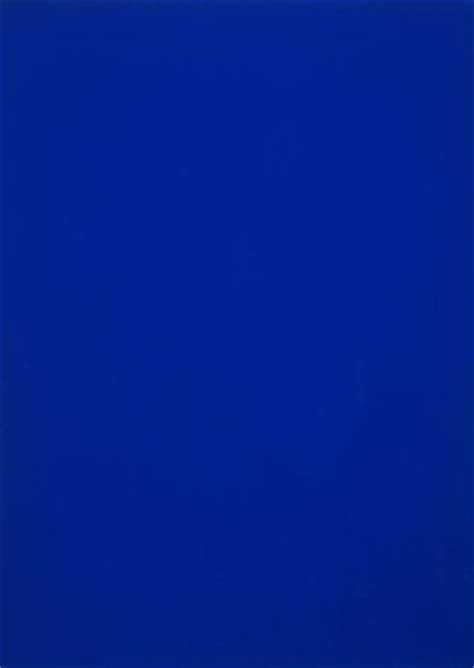 Yves Klein Blue by Of The Moment The Yves Klein Blue