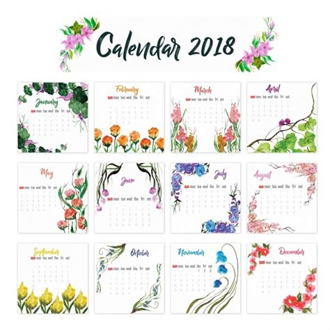 free printable yearly calendar 2018 onlyagame inside 2018